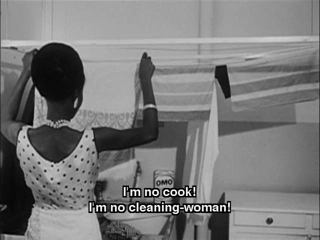 Black Girl Diouana remonstration